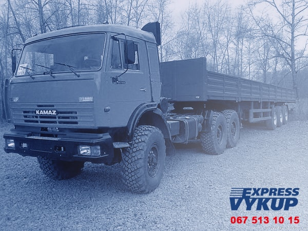 Продать грузовое авто, выкуп грузовых машин