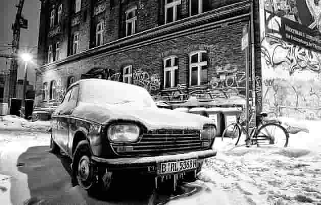 Уход за авто зимой