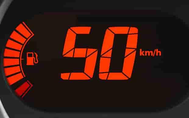 ограничение скорости до 50 км/час