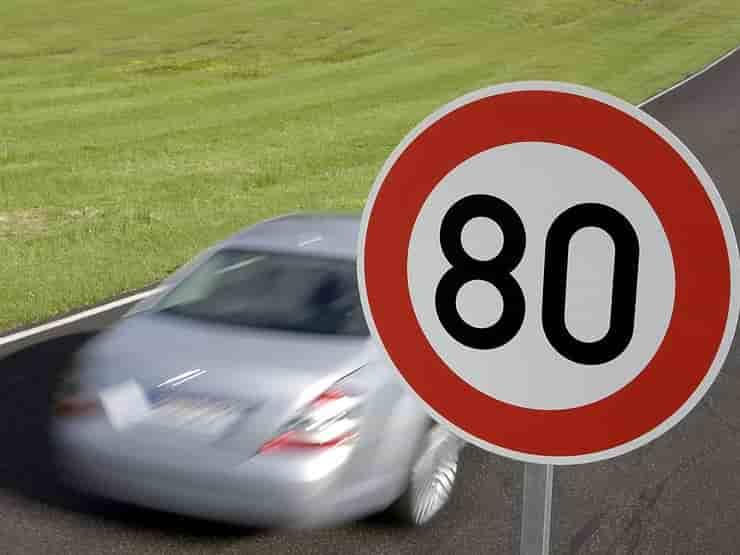 Увеличение максимальной скорости на некоторых дорогах Киева